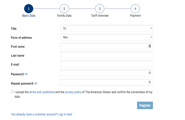 Green Card Lottery Application basic data